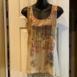 Daytrip sequined tank